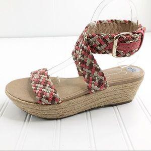 Jessica Simpson size 6.5 Sandals Wedges Leila